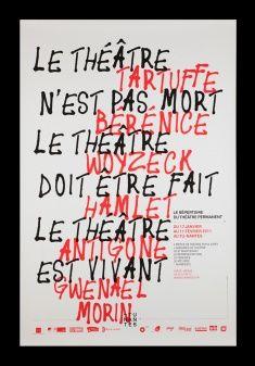 Design - Akatre Gwenaël Morin et son théâtre permanent.