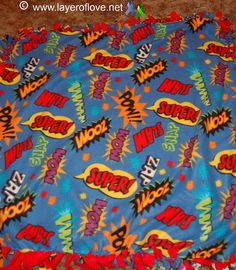 What an awesome blanket pattern for a pediatric cancer patient!  We love this!!
