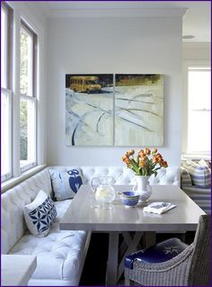 Corner Banquette Bench With Storage