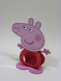Porta Bombom Peppa Pig-Cortes para Montar