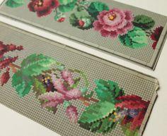 Floral bands- Cross stitch pattern . Instant download PDF