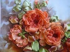 silk ribbon embroidery stitches beginners - Google Search