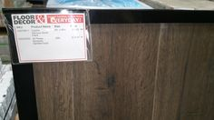 Downstairs final floor selection and grout - #hardwood #tile