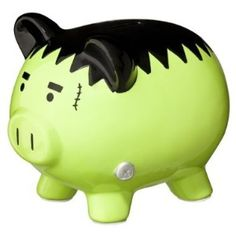Halloween Piggy Bank - Frankenstein review | buy, shop with friends, sale | Kaboodle