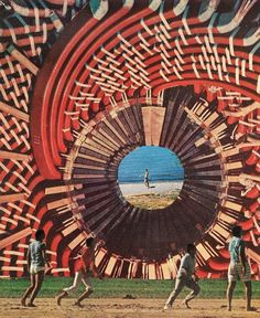Jesse Treece Collages Are Surreal Landscapes | Mutantspace