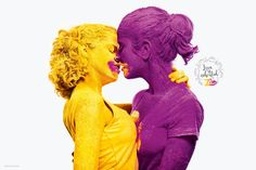 Zim Coloured Powder: Love is Colorful | http://www.gutewerbung.net/zim-coloured-powder-love-is-colorful/ #Advertising