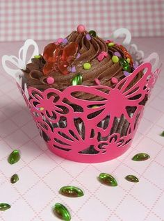 Butterfly Cupcake Decorations