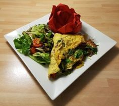 Simon Smith has shared a lovely Catalan omelette recipe with us today. Omelette Recipe, Protein Sources, Easy Food To Make, Nutritious Meals, Cabbage, Healthy Eating, Vegetables, Ethnic Recipes, Eating Healthy