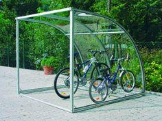 fahrradgarage aus metall 4 fahrr der ebike garage abschlie bar 4 qm gartenhaus. Black Bedroom Furniture Sets. Home Design Ideas