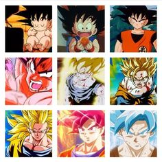 Goku has grown up to be such a guy. A compassionate  father (don't you dare say he isn't!), a valiant fighter, a loving husband, and quite the looker! Oh Goku-San...