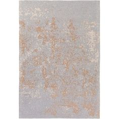Egypt Lara Silver and Camel Rectangular: 5 Ft. x 7 Ft. 6-Inch Area Rug - (In No Image Available)