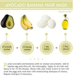How-To Make 10 DIY Homemade Hair Masks | The How-to Crew