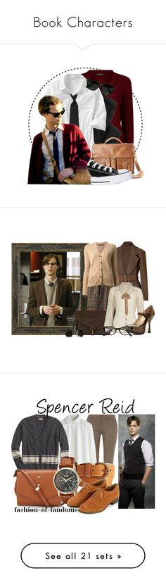 """""""Book Characters"""" by jessyruth515 ❤ liked on Polyvore featuring Siwy, Old Navy, Rawlings, Converse, Ray-Ban, Krizia, Costa, Donna Karan, Ralph Lauren and Yumi"""