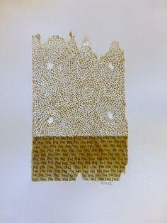 Patti Roberts-Pizzuto, tea bag art