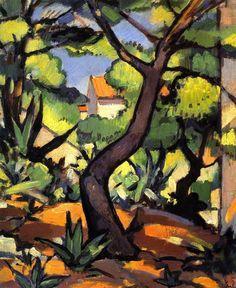 Samuel John Peploe - Landscape at Cassis,1924