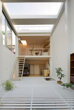 Taichi Mitsuya & Associates: House in Kawasaki — Thisispaper — What we save, saves us.