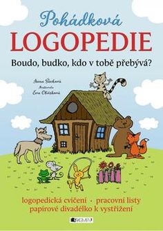 Pohádková logopedie: Boudo, budko, kdo v tobě přebývá? Diy Toys, Toy Diy, Thriller, Diy And Crafts, Logos, Character, Logo, Lettering
