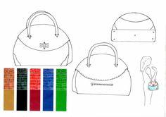 diseño de bolsos bocetos - Buscar con Google