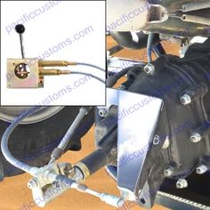 Brandwood 84 Inch Beetle Or Mendeola Midengine Cable Shifter 84 Inch Shifter To Nose Cone Max Length