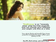 Thin Forever | Natural Weight Loss Check more at http://stuffeddaily.com/2306