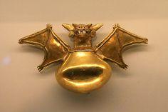 Pre-Columbian Gold Artifact, Gold Museum, San Jose, Costa Rica