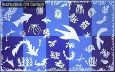 Polynesia, The Sea, by Henri Matisse. http://www.incredibleart.org/gallery/P/Polynesia,-The-Sea-by-Henri-Matisse.html