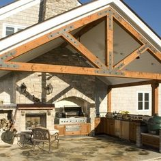 Klassisch Pergola & Atrium by Small Batch Kitchens