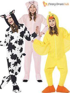 71bb0e96f42e Kids farm  animal  onesie fancy dress costume boys girls  nativity  christmas book