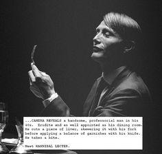 fire-of-my—loins:  Hannibal + Scripts: Aperitif
