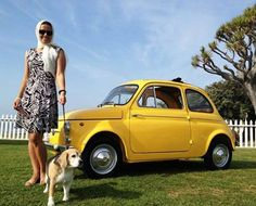 Bringing back the 60's with my very own 1964 Fiat 500 D :)