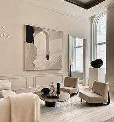Such a calm space, design via Interior Design Inspiration, Home Interior Design, Interior Architecture, Design Ideas, Daily Inspiration, Interior Work, Home Living Room, Living Room Designs, Living Room Decor