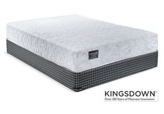 Blissful Rest. Getting a good night's sleep should be as peaceful as looking at the stars, and with the Celestial mattress collection from Kingsdown, you can wake up relaxed and rejuvenated even on those cloudy nights. Built-in cooling technology keeps you comfortable all night long and ample pocket coils provide superior, pressure-relieving support to prevent restlessness. Set includes Queen mattress and boxspring, as shown. Made in Canada.