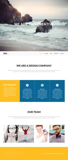 Sol is Premium full Responsive WordPress Agency Portfolio Theme. Integrated social media font icons. Contact Form 7. Minimal. Test free demo at: http://www.responsivemiracle.com/cms/sol-premium-responsive-agency-portfolio-wordpress-theme/