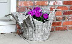 Лучший Как сделать кашпо для цветов своими руками: уличные, для дома, подвесные и др. варианты. Инструкция, 120+ оригинальных фото идеи (Видео) +Отзывы