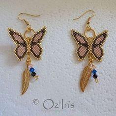 Beaded earrings 295900638013329547 - Source by Beaded Earrings Patterns, Peyote Patterns, Beading Patterns, Seed Bead Jewelry, Seed Bead Earrings, Drop Earrings, Beading Projects, Beading Tutorials, Beaded Bracelets