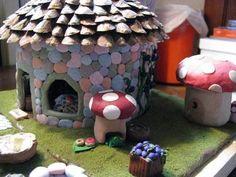 Идеи сказочных домиков,замков,дверей -Fairy Houses,Towers,fairy doors Ideas - Мастер-классы по украшению тортов Cake Decorating Tutorials (H...