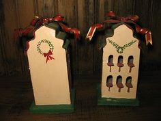 Some of the best stuff gets passed up! ??? CHRISTMAS ORNAMENTS vintage TIN BIRDHOUSES Country DECOR 12 nestings! @eBay! http://r.ebay.com/DSi7rr