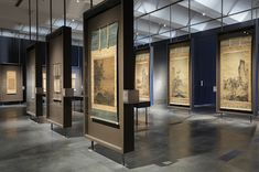 Installation view, Chinese Paintings from Japanese Collections, May 11–July 6, 2014, Los Angeles County Museum of Art, photo © 2014 Museum Associates/LACMA
