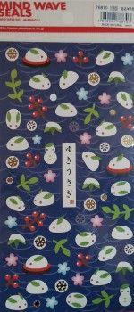 stickers coniglietti kawaii