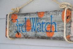 Custom Beach House Name Sign Personalized with by DocksideCottage, $44.99