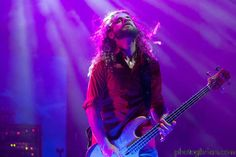 Justin Chancellor (Tool) greatest bassist of all time. Justin Chancellor, Red Rock Amphitheatre, Tool Band, A Perfect Circle, Jack White, I Love Music, Music Icon, Photo Essay, Great Bands