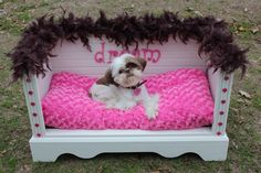 Bottom half of a dresser turned into a dog bed. - Tap the pin for the most adorable pawtastic fur baby apparel! You'll love the dog clothes and cat clothes!