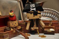 Amazon Box Robot Pirate