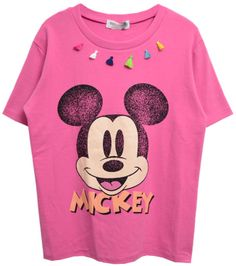 ChicNova Mickey Mouse Printed Tassels T-Shirt #disney