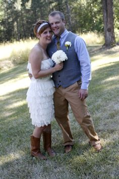 Just realized how awesome my dress would look with boots too.