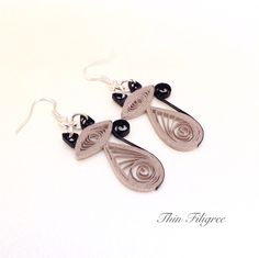 Quilled Paper Earrings.