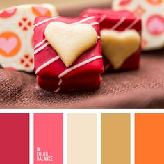 saint valentine's day color inspiration