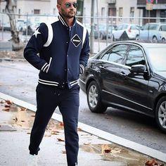 """Milano fashion week day one wearing Nike thanks @nytimesfashion #menstyle #mensfahion #milanofashionweek #milanvukmirovic"""