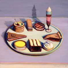 Image result for wayne thiebaud paintings