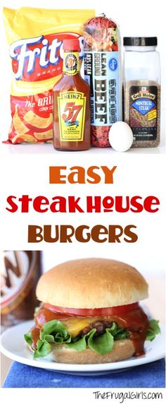 Ultimate Steakhouse Burger Recipe!
